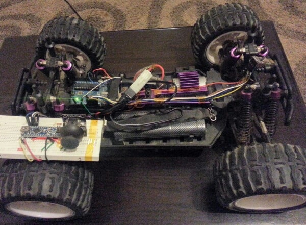 RF Control System for R/C Vehicle Based on Arduino and NRF24L01