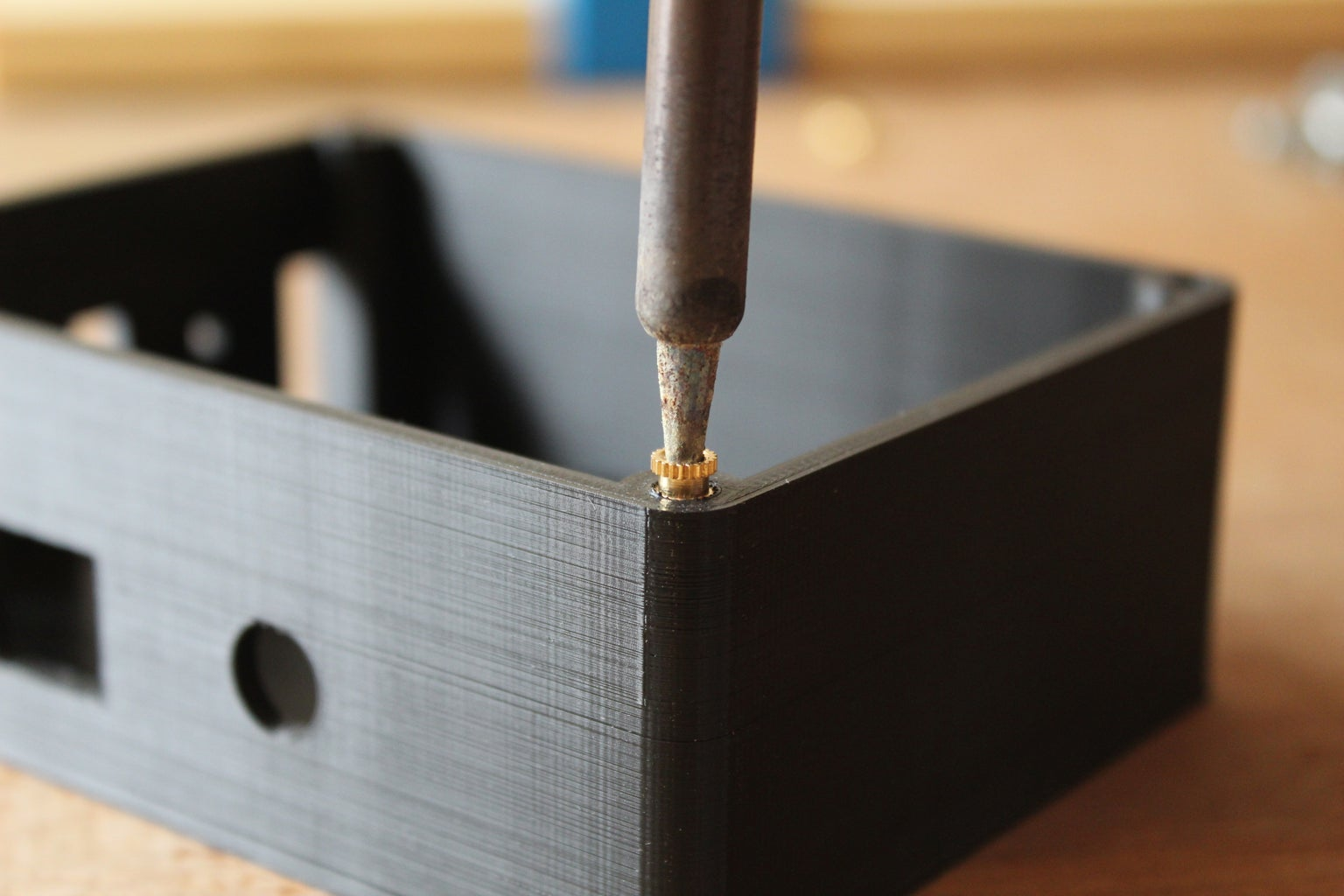 Embedding the Heat-sinks and the Magnets
