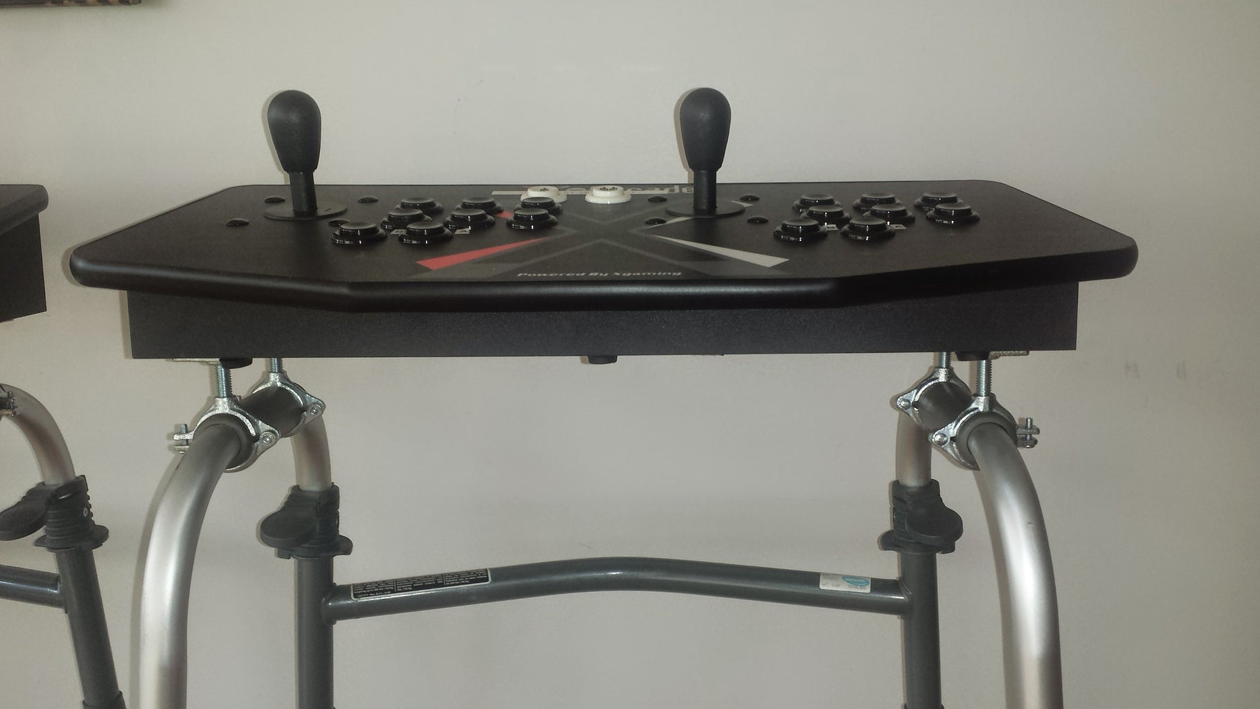 Stand Up Arcade Controllers Using Adult Walkers