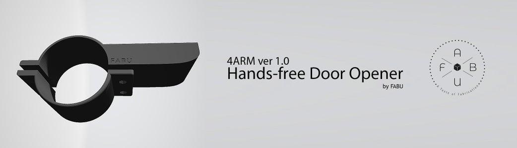 4ARM Ver 1.0 - FABU Hands-free Door Opener