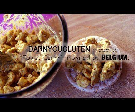 """Belgian """"Poulet-Curry"""" Sandwich Filling (GF)"""