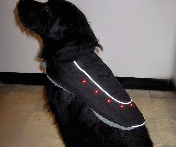 Kitronik Light Up Dog Coat