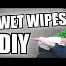 Wet Wipes. 3 Ingredients