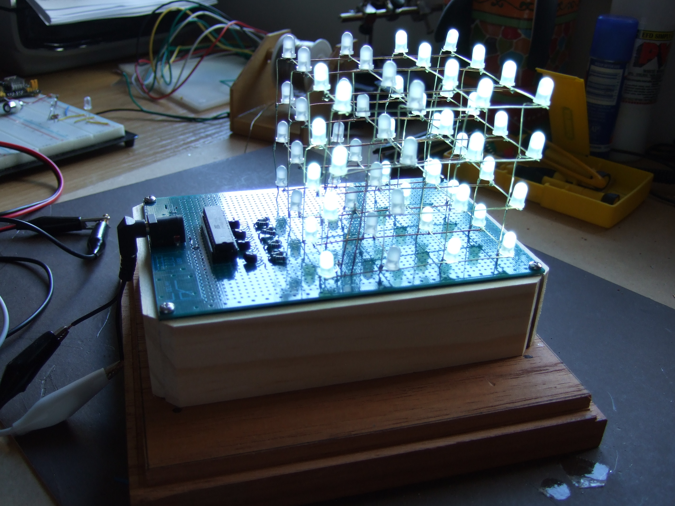 The One Chip LED Cube