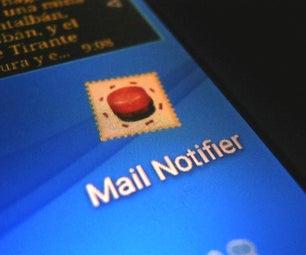 Mailbox notifier using a smartphone