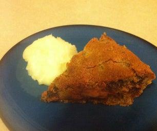 Peanut Butter Pretzel Crust Pie