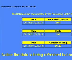 Refreshing MySql Data Within a Web Page