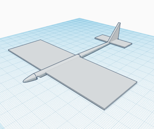 Design and Build a Glider Using Tinkercad