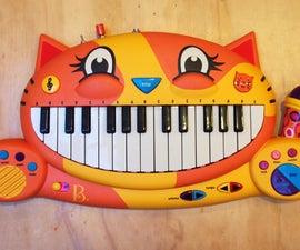 Meowsic Keyboard Output Jack