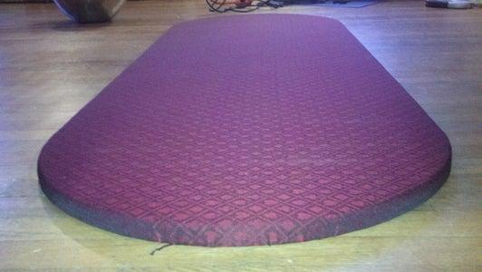 Upholster the INSERT
