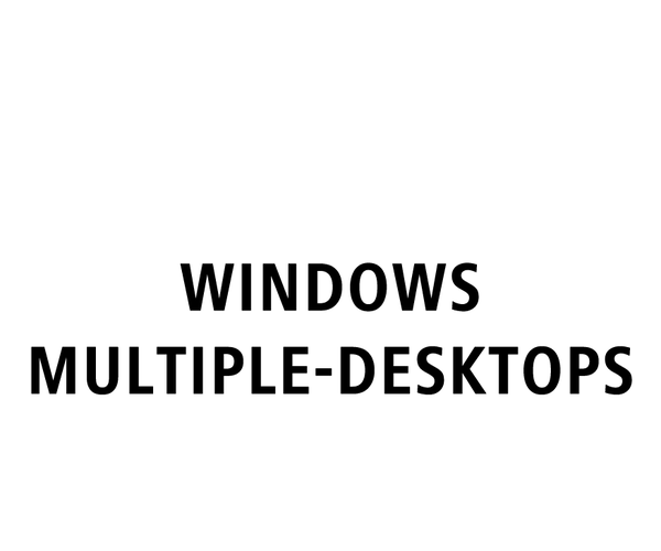 How to Use Multiple Desktops on a Windows Computer