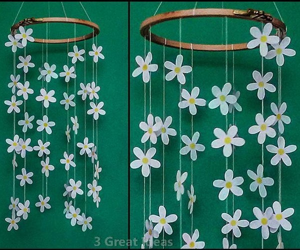 Daisy Garland Spring Room Decor