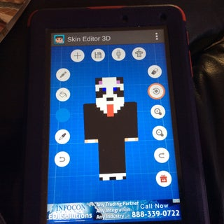 How to Make Your Own Minecraft PE Skin!