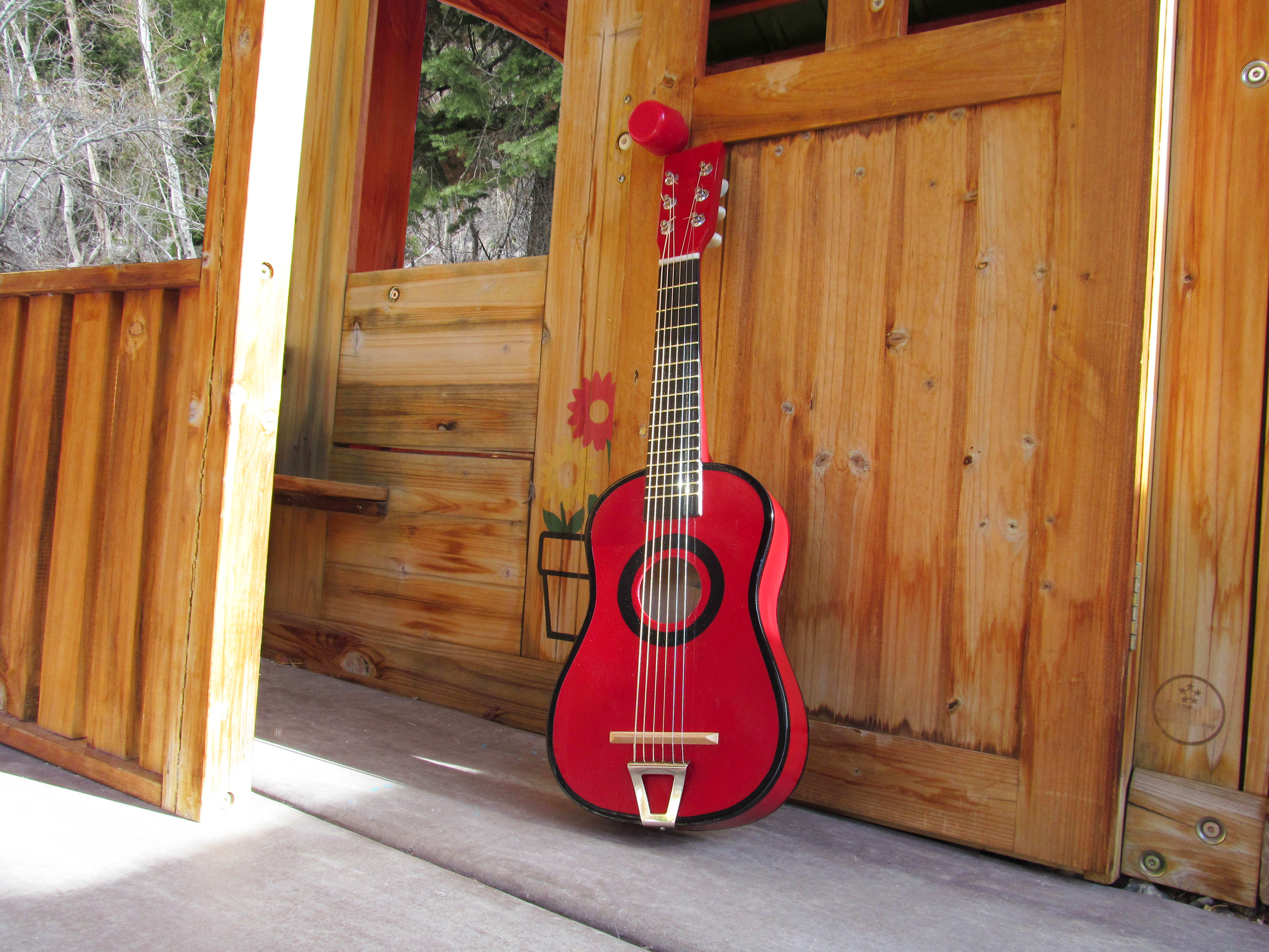 Little Red Guitar
