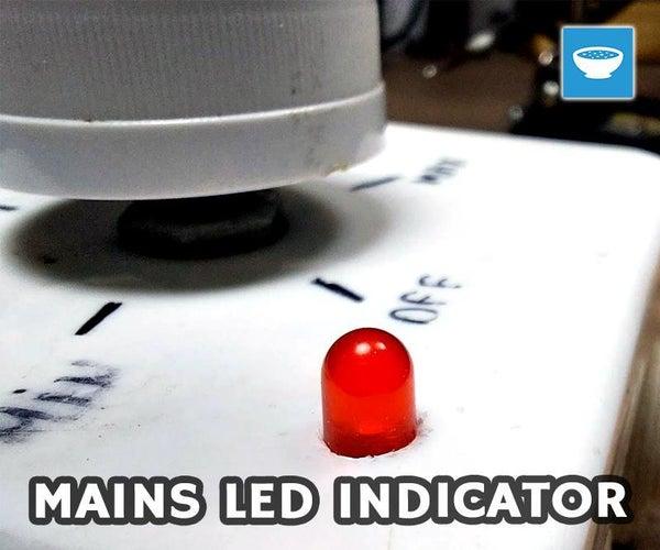 Add LED Indicator Light to Soldering Iron