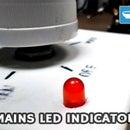 烙铁上加LED指示灯
