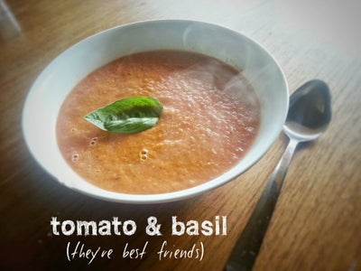 Roasted Tomato Soup: Flavourful, Fresh & Simple