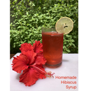 Homemade Hibiscus Syrup (from Homegrown Hibiscus Tree)