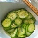 10mins Cucumber Pickle