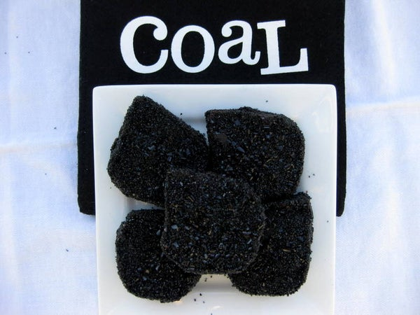 Santa's Lump of Coal for the Naughty (Chocolate)