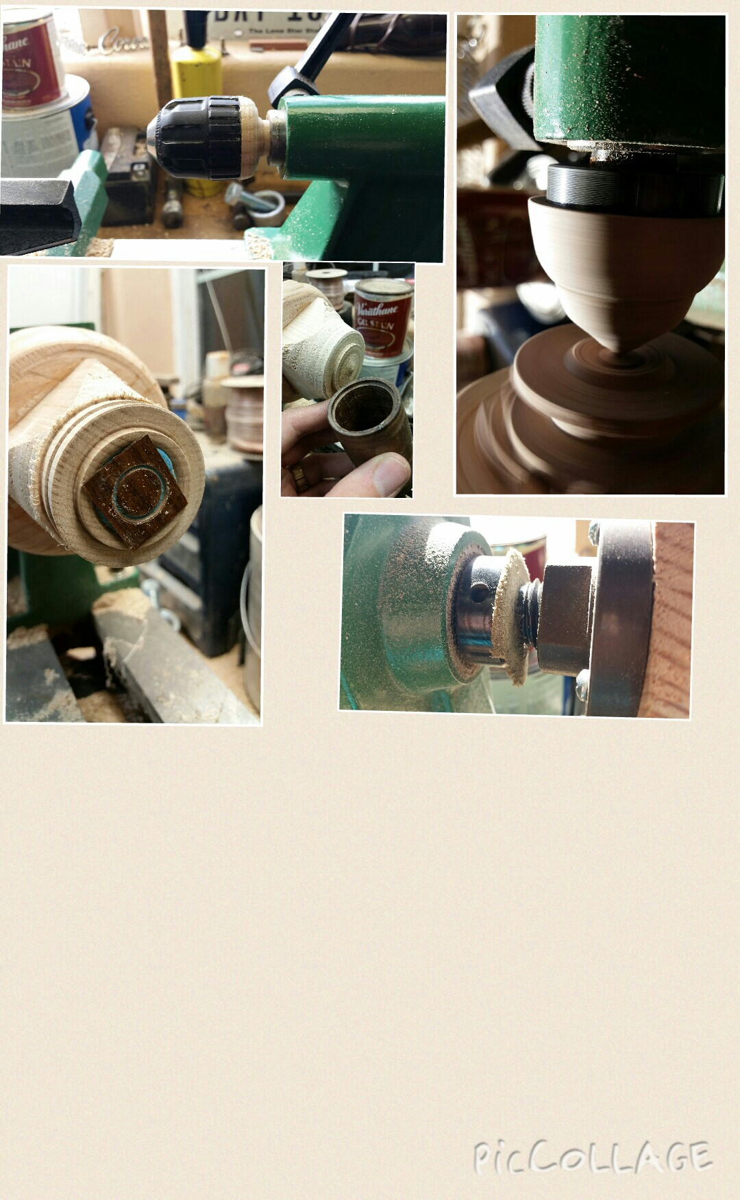 DIY Lathe add ons