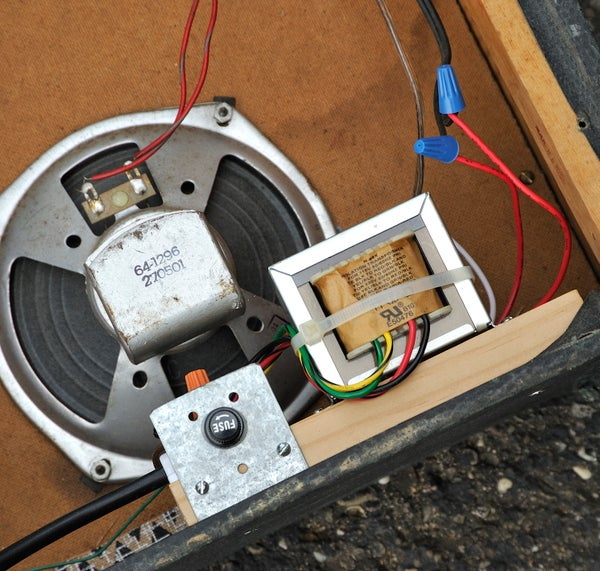 Isolation Transformer Upgrade for Old Guitar Amps