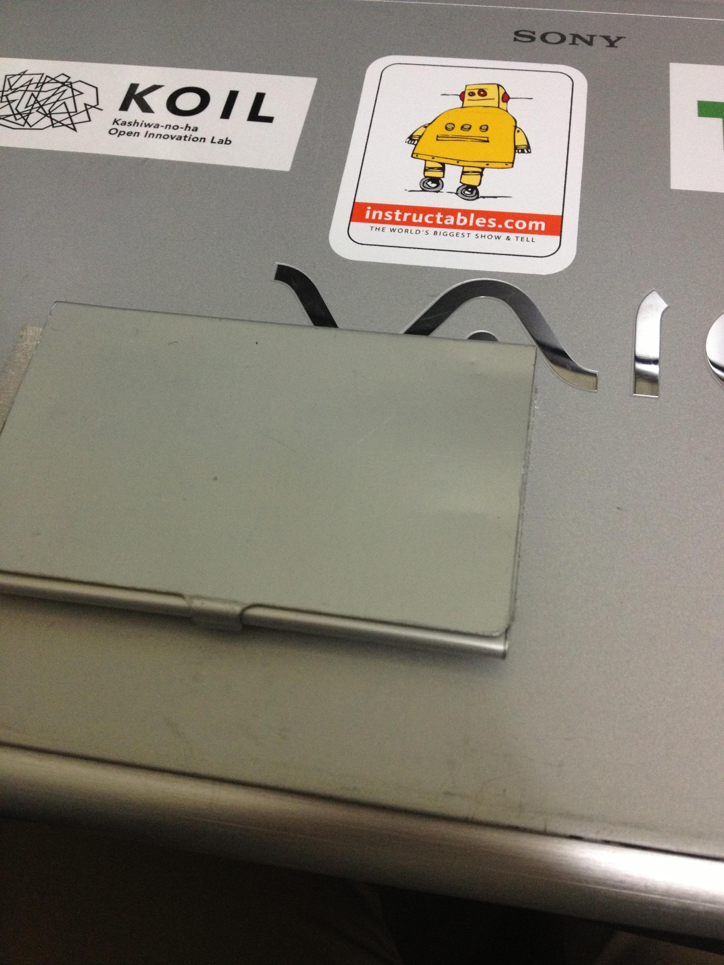 Laptop Biz card holder