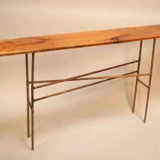Easy Copper Pipe and Reclaimed Wood Table