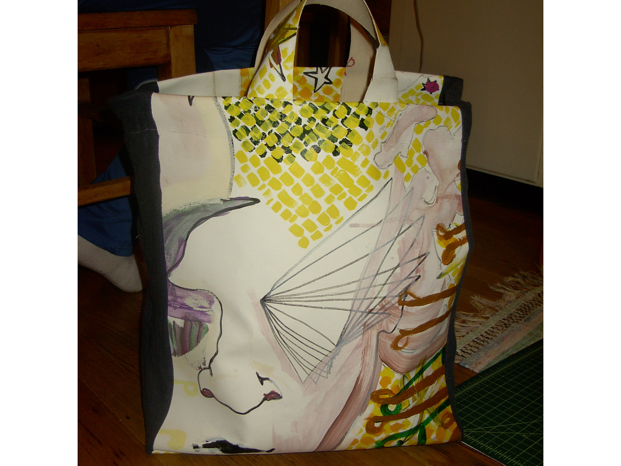 Art: it's my bag.