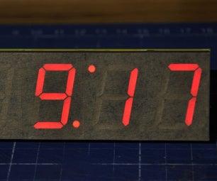 Cheap Desktop Led Clock