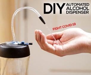 DIY Automatic Alcohol Dispenser (No Arduino Needed)