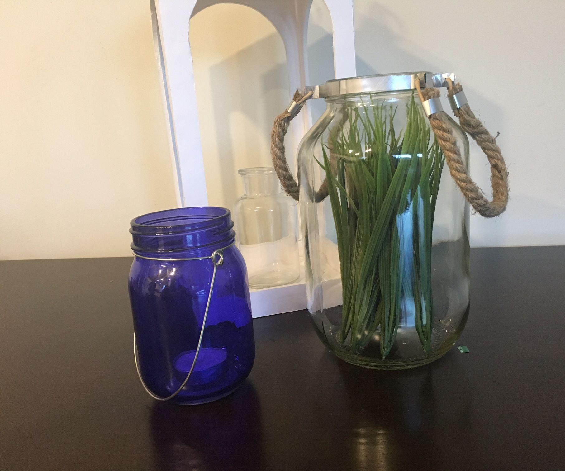 Jar Lantern Out of Trash