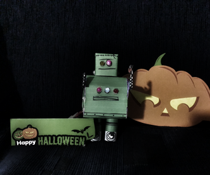 Frankenbot With Sound Effects and Lights