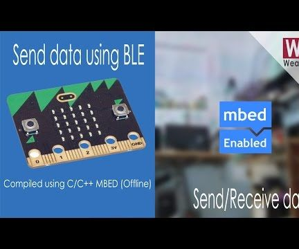 Send/Receive data using BLE and MBED |  BBC:Microbit