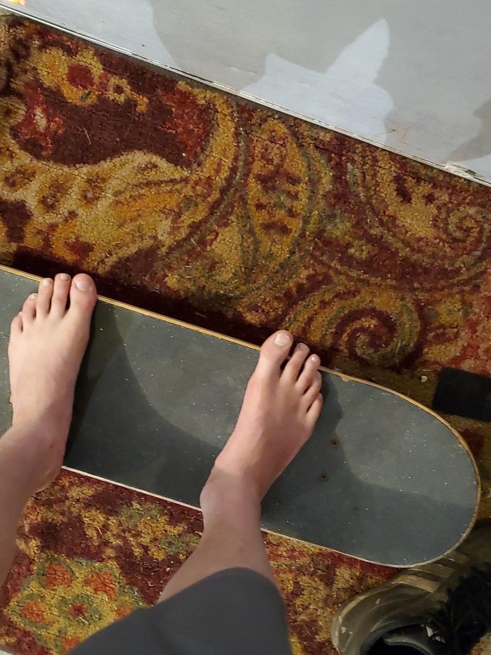 Skateboard Compliant Shock Absorber