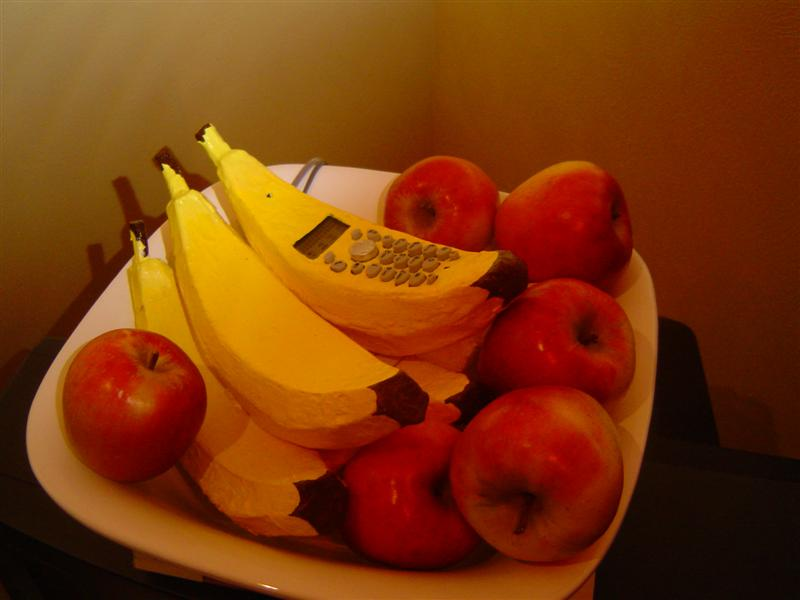 How to make a Banana Telephone (Land-line) and Banana Base Unit