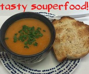 Lentil and Vegetable Soup (vegan)