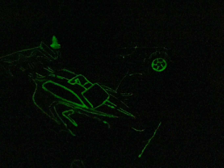 Optional Glow Paint
