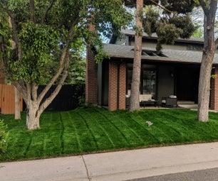 $1.50 DIY Behind Mower Lawn Striper