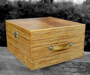 Plywood (end Grain) Drone Box