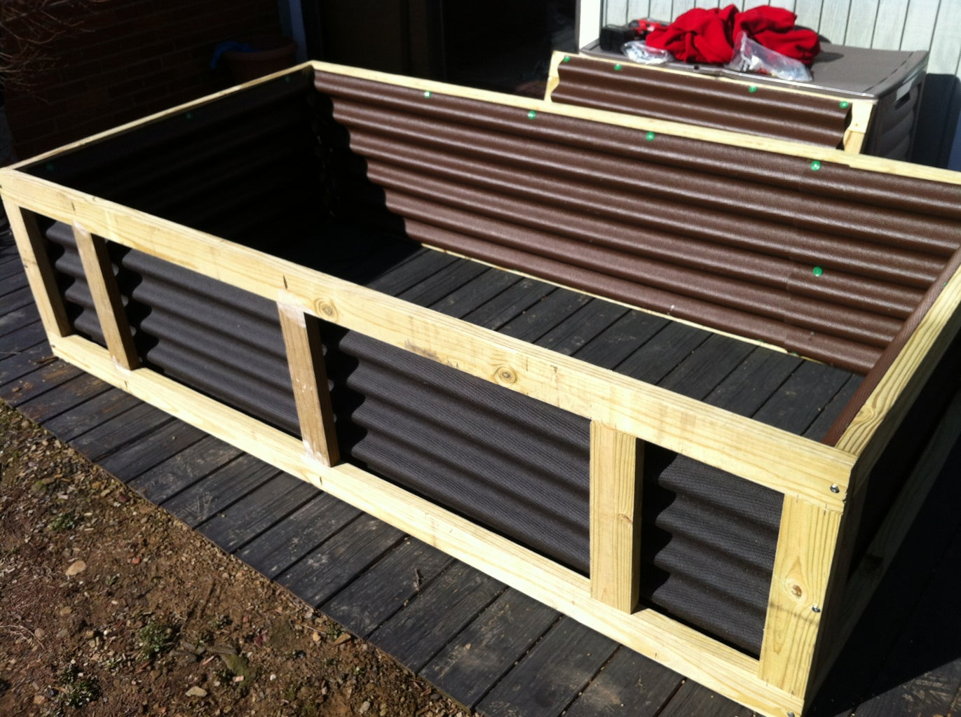 Ondura Step: Nail Roofing Material to Panels