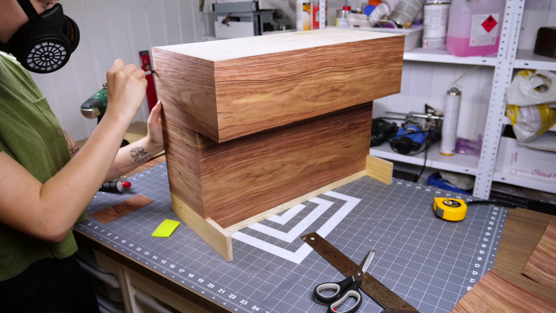 Covering Everything Up With Veneer