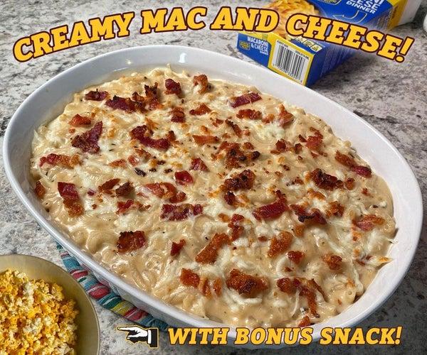 Creamy Macaroni and Cheese!