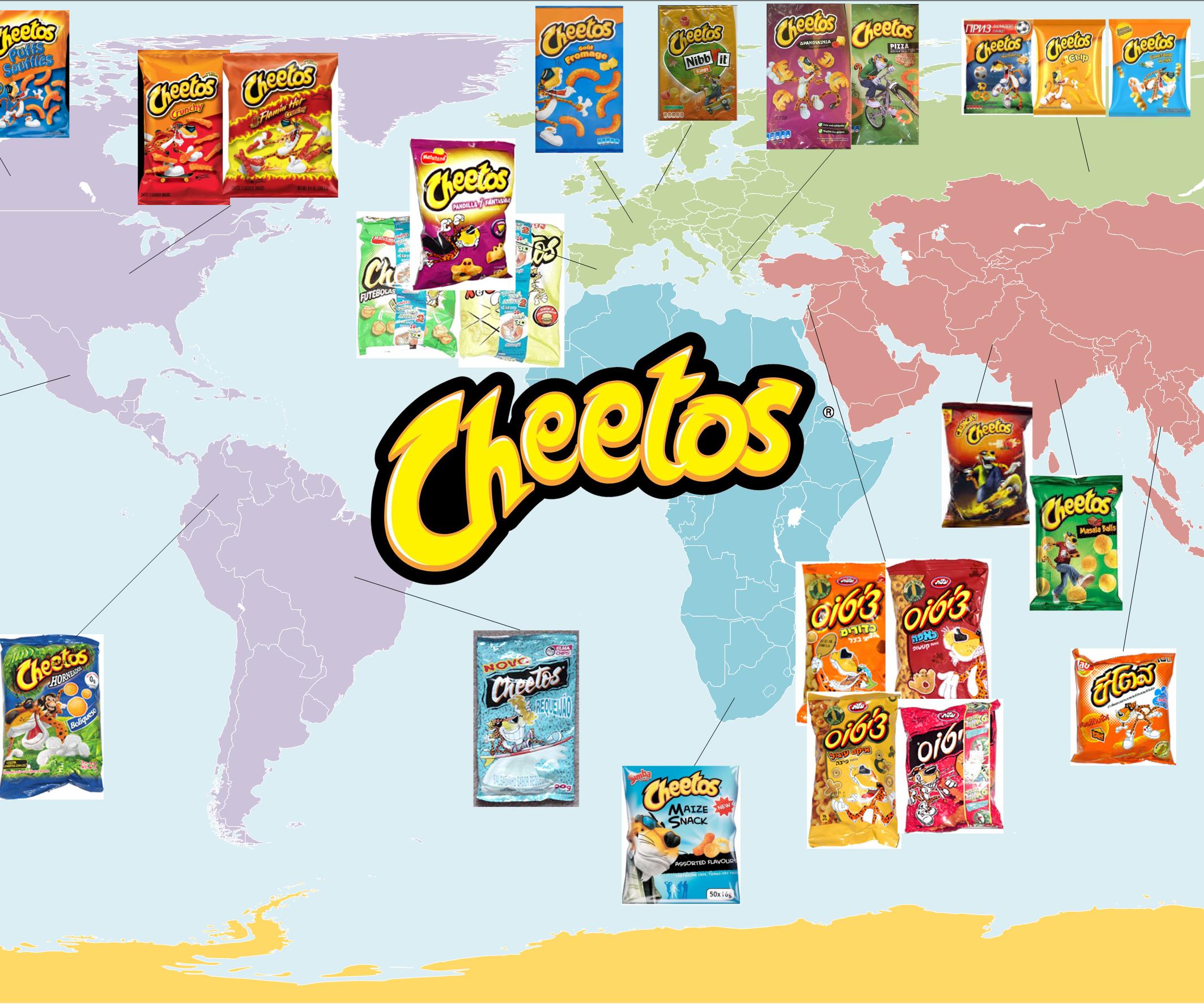 Cheetos Around the World