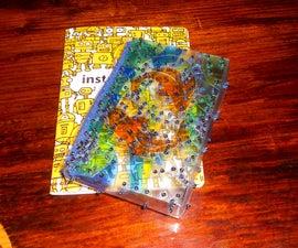 Pocket-Sized Mosaic Box From Plastic Bottles