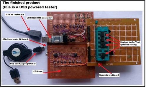 Renegade-i (Programmable IC Tester That Feels Like the Real Thing)