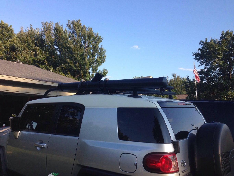 Roof Rack Shower for Outdoor Activities