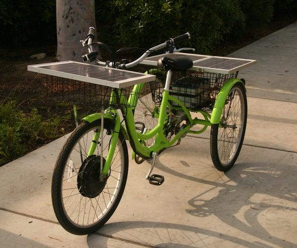 Solar Powered Trike