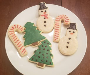 Actually Tasty Royal Icing Holiday Cookies (I Swear)