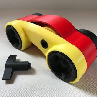 Dual Mode Windup Car
